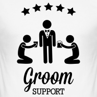 Groom Support Bier T-Shirts