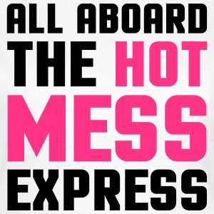 Hot Mess Express T-skjorter - T-skjorte for kvinner