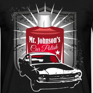 Mr. Johnson´s Car Polish T-Shirts - Männer T-Shirt
