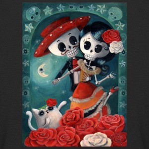 Dia de Los Muertos Lovers Long Sleeve Shirts - Kids' Premium Longsleeve Shirt