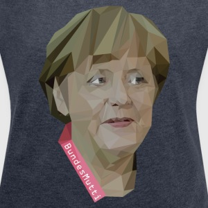 BundesMutti T-Shirts - Women's T-shirt with rolled up sleeves