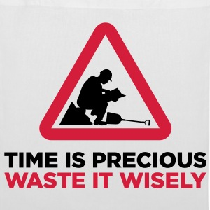 Waste your time wisely Bags & Backpacks - Tote Bag