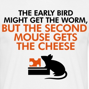 The second mouse gets the cheese T-Shirts - Men's T-Shirt