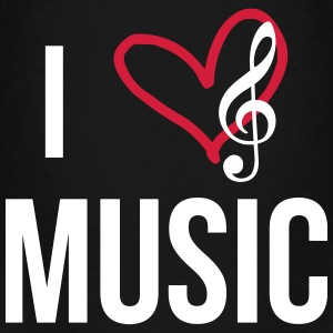 I Love Music Shirts - Kids' Premium T-Shirt