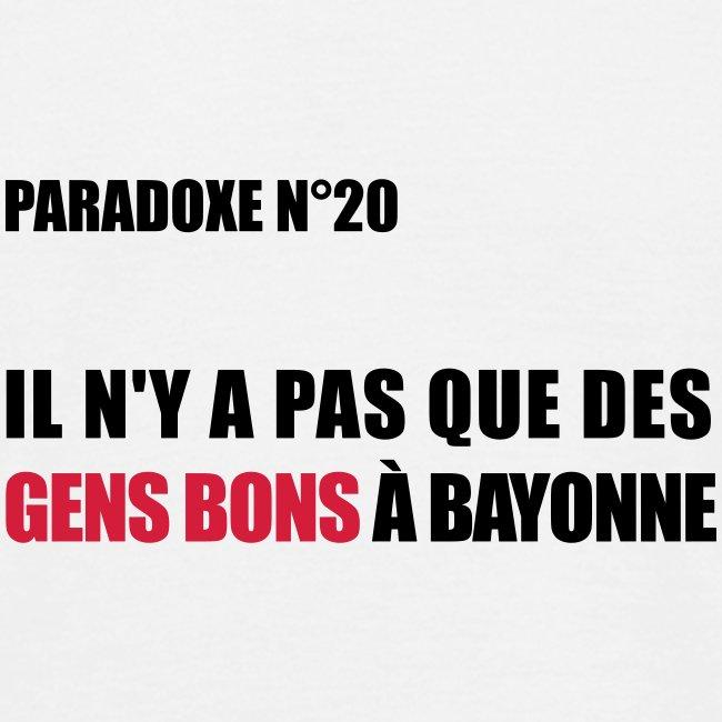 PARADOXE BASQUE ...