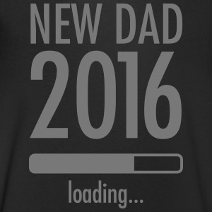 New Dad Loading - 2016 T-shirts - T-shirt med v-ringning herr