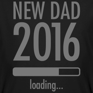 New Dad Loading - 2016 T-shirts - Mannen Bio-T-shirt