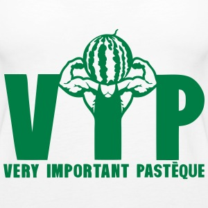 vip very important pasteque bodybuilder Tops - Frauen Premium Tank Top