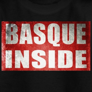 Basque inside rouge Euskadi Tee shirts - T-shirt Enfant