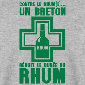 breton reduit duree rhum pharmacie Sweat-shirts - Sweat-shirt Homme