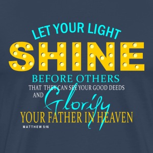 Let Your Light Shine - Men's Premium T-Shirt