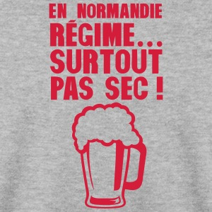 normandie regime surtout pas sec biere Sweat-shirts - Sweat-shirt Homme