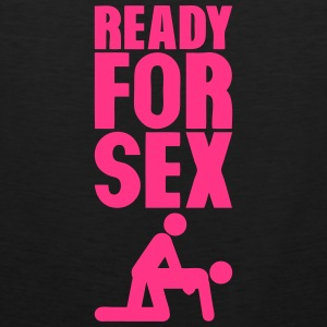 ready for sex levrette position Sportbekleidung - Männer Premium Tank Top