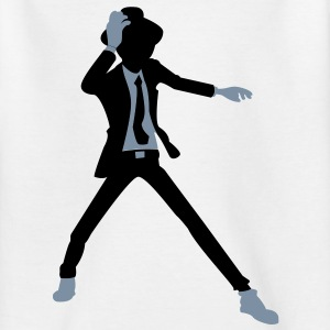 A disco dancer in suit with hat Shirts - Teenage T-shirt