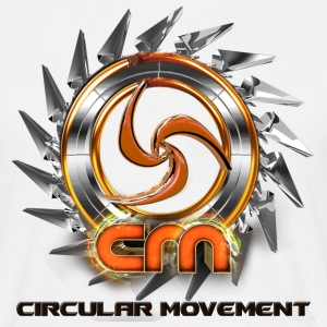 Circular Movement Fan Shirt - Männer T-Shirt