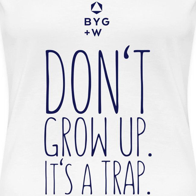 Don't Grow Up - Girls