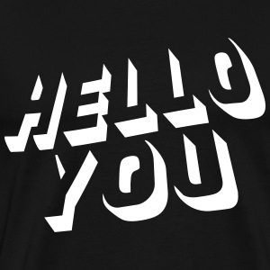 hello you T-shirts - Premium-T-shirt herr