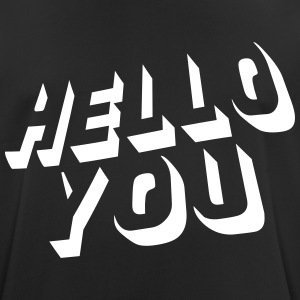 hello you T-shirts - Andningsaktiv T-shirt herr