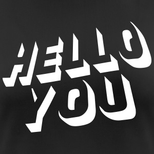 hello you T-Shirts - Women's Breathable T-Shirt