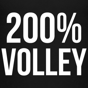 200% Volley T-shirts - Teenager premium T-shirt