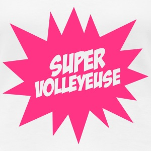 Super Volleyeuse T-shirts - Premium-T-shirt dam