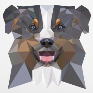 Aussie, blue merle Other - Pillowcase 40 x 40 cm