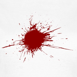 Blood spatter from a bullet wound T-Shirts - Women's T-Shirt