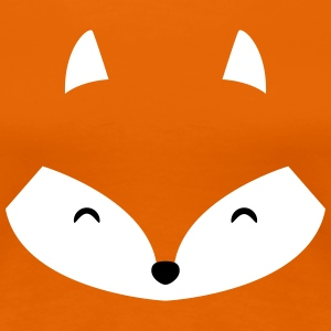 Simple Little Fox T-Shirts - Frauen Premium T-Shirt