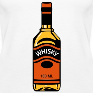 Whiskey bottle Tops - Women's Premium Tank Top