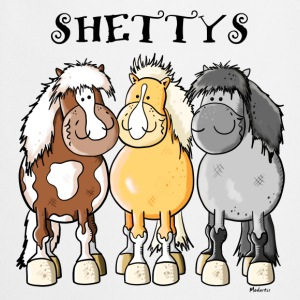 Three Shetland ponies  Aprons - Cooking Apron