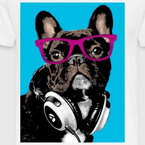 Pop Art Bulldog T-shirts - Premium-T-shirt herr