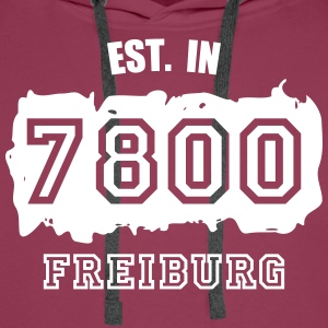 Established 7800 Freiburg Pullover & Hoodies - Männer Premium Hoodie