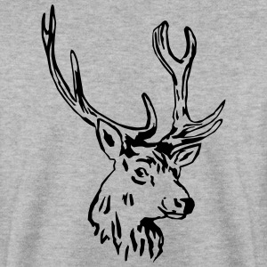 deer - antler - hunting - hunter Sweatshirts - Herre sweater