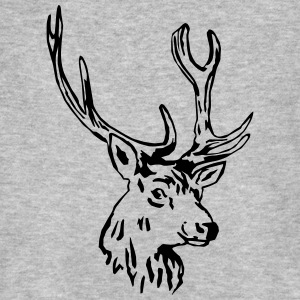 deer - antler - hunting - hunter T-Shirts - Men's Organic T-shirt