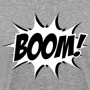 Comic Boom, Bang, Star, Superhero, Quotes, Funny T-Shirts - Men's Premium T-Shirt
