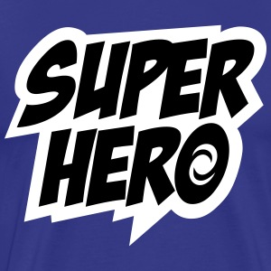 Superhero, Comic, Hero, Super, Held, Sprüche T-Sh - Männer Premium T-Shirt