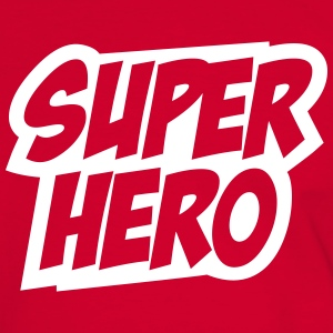 Superhero, Comic, Hero, Super, Held, Superheld  - Männer Kontrast-T-Shirt