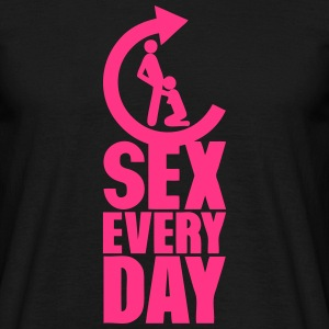 sex every day repeat pipe fellation Tee shirts - T-shirt Homme