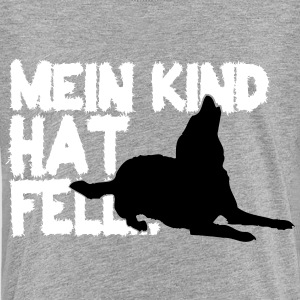 Mein Kind hat Fell T-Shirts - Teenager Premium T-Shirt