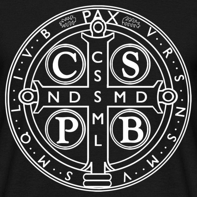 cb156e75d48 Camiseta Medalla de san Benito