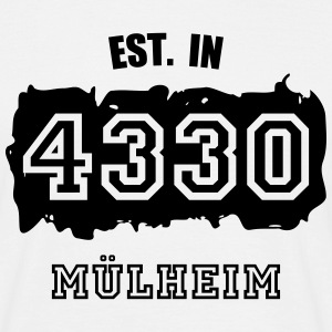 Established 4330 Mülheim T-Shirts - Männer T-Shirt