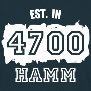Established 4700 Hamm T-Shirts - Männer T-Shirt