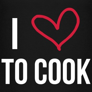I Love to Cook T-shirts - Teenager premium T-shirt