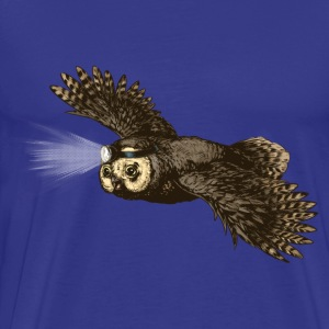Owl_headlight T-Shirts - Men's Premium T-Shirt