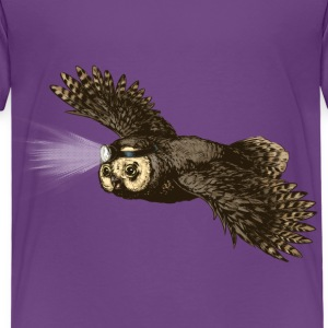 Owl_headlight T-Shirts - Kinder Premium T-Shirt