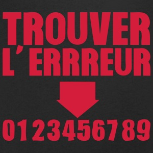 trouver erreur test humour 1 Tee shirts - T-shirt Homme col V