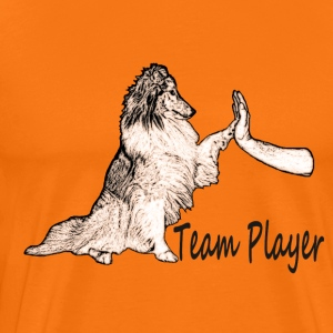 Sheltie Team Player - Männer Premium T-Shirt