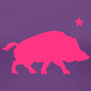 Lucky Pig - Women's Premium T-Shirt