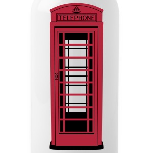 Old London Telephone Box  - Trinkflasche  - Trinkflasche