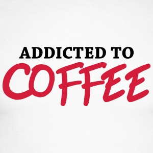 Addicted to Coffee Long sleeve shirts - Men's Long Sleeve Baseball T-Shirt